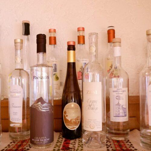 grappe e distillati del territorio